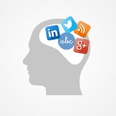 social media for writers logo