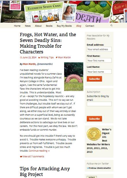 Elizabeth Spann Craig blog