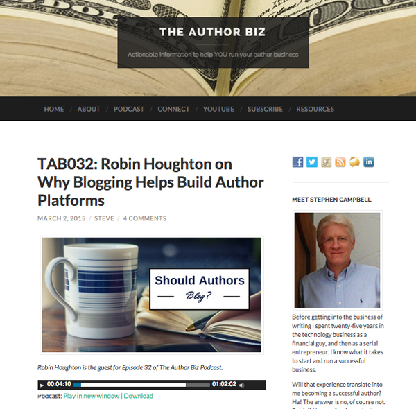 The Author Biz podcast