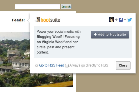 Add feeds to Hootsuite 1