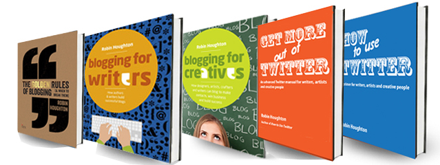 Books & ebooks on social media by Robin Houghton